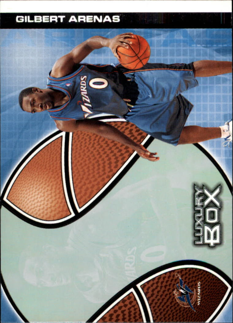 2004-05 Topps Luxury Box #8 Gilbert Arenas