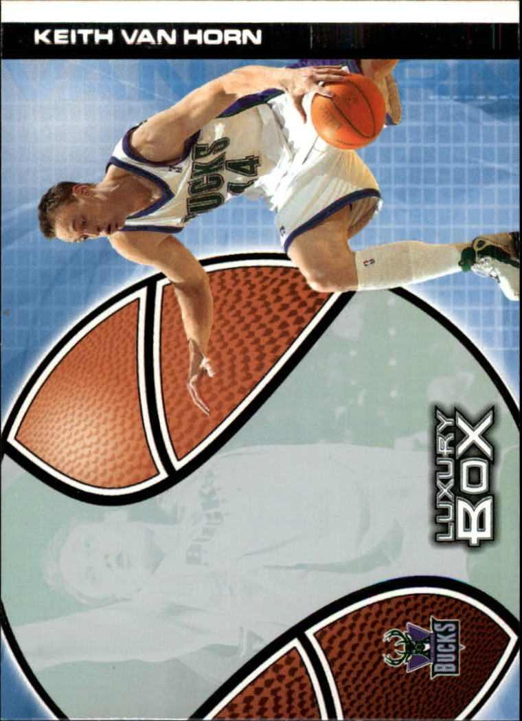 2004-05 Topps Luxury Box #9 Keith Van Horn