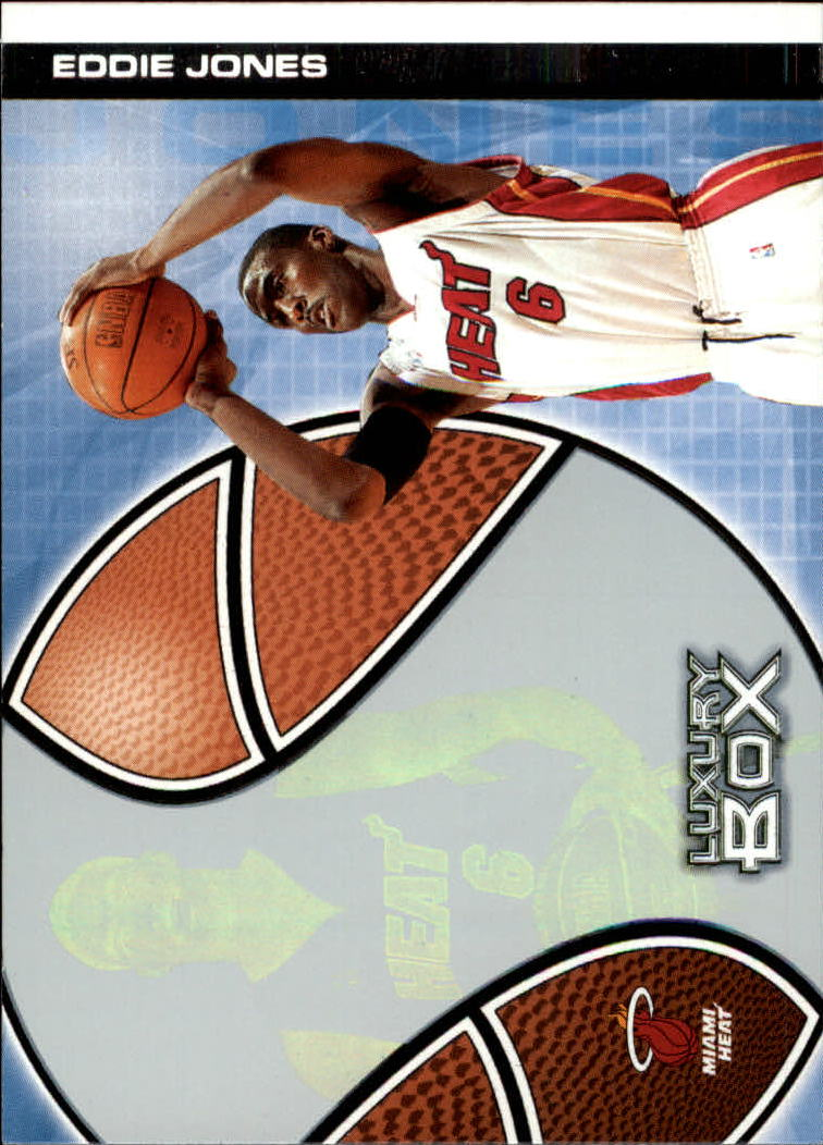2004-05 Topps Luxury Box #10 Eddie Jones