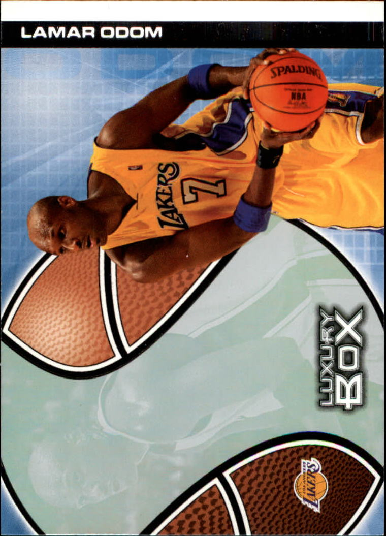 2004-05 Topps Luxury Box #11 Lamar Odom