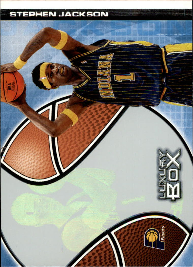 2004-05 Topps Luxury Box #12 Stephen Jackson