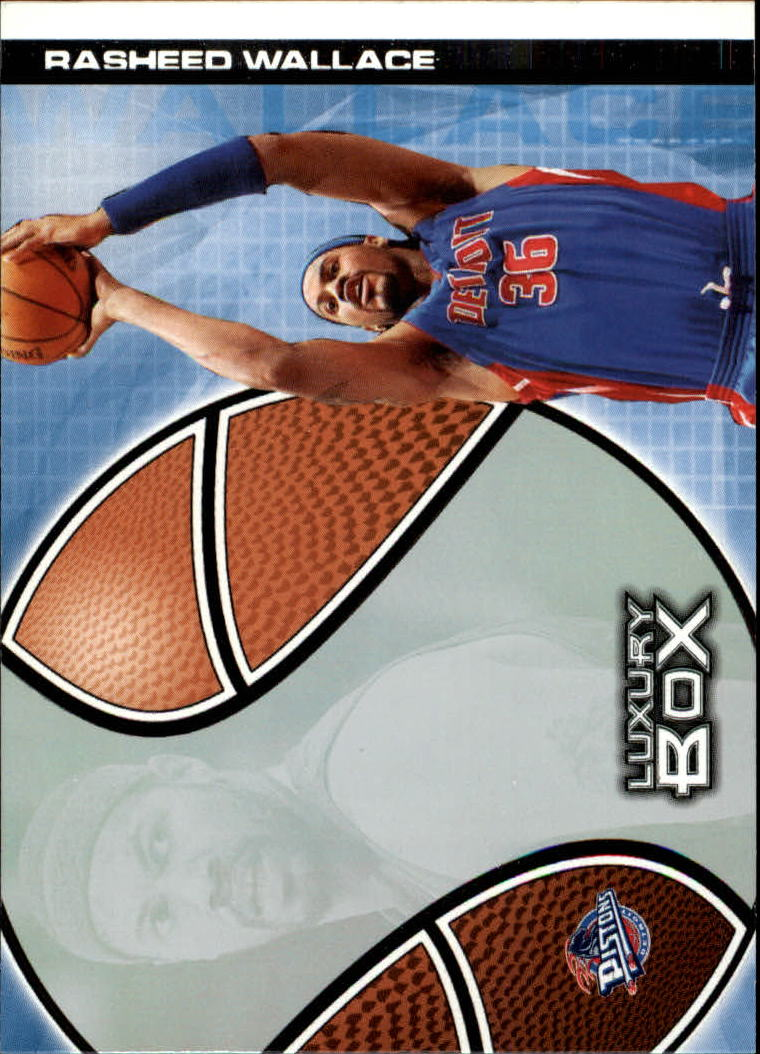 2004-05 Topps Luxury Box #13 Rasheed Wallace