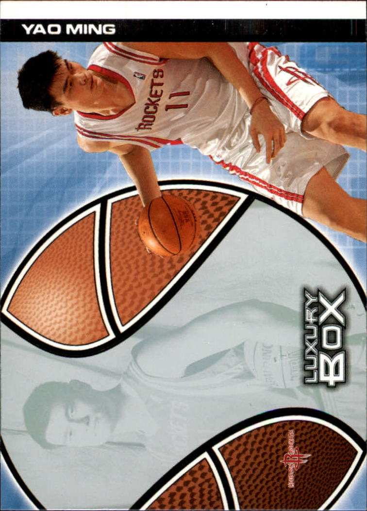 2004-05 Topps Luxury Box #18 Yao Ming