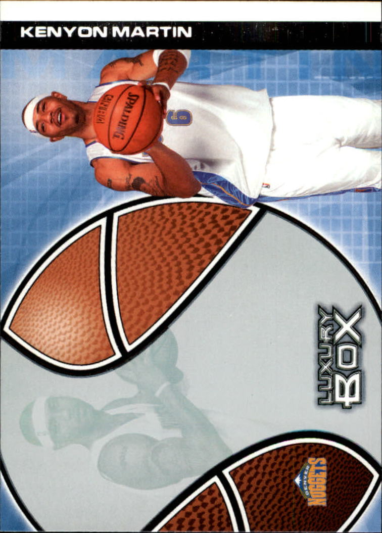 2004-05 Topps Luxury Box #19 Kenyon Martin
