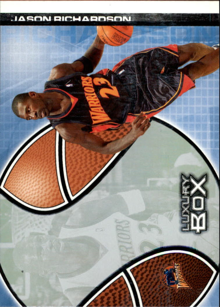2004-05 Topps Luxury Box #20 Jason Richardson