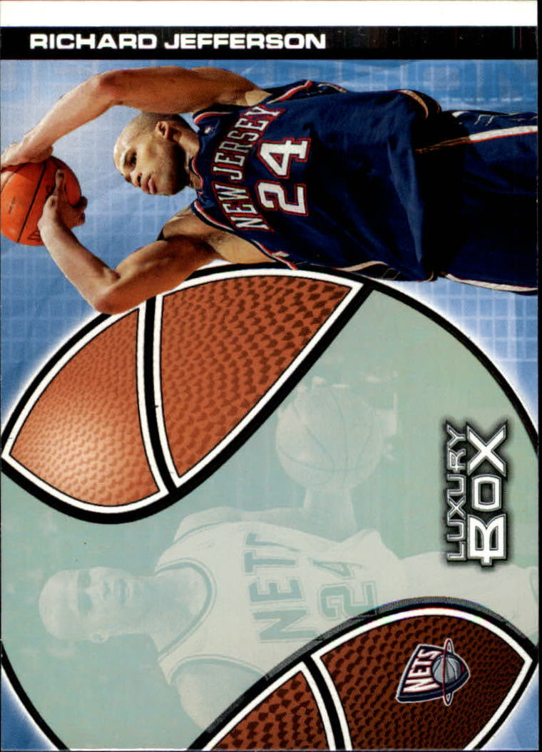 2004-05 Topps Luxury Box #22 Richard Jefferson