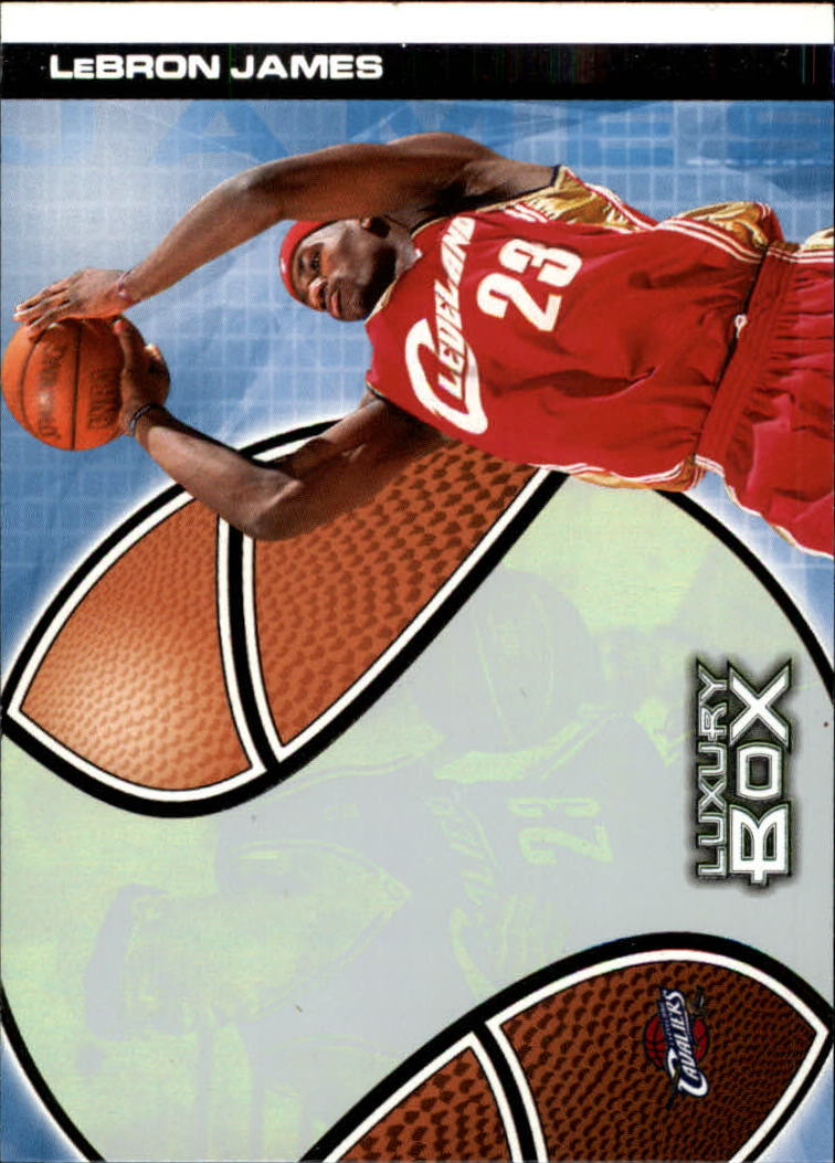 2004-05 Topps Luxury Box #23 LeBron James