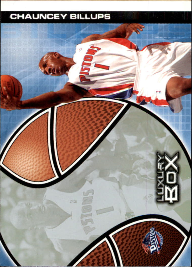 2004-05 Topps Luxury Box #25 Chauncey Billups