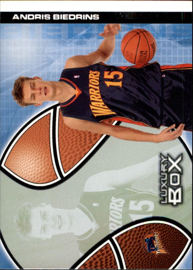 2004-05 Topps Luxury Box #111 Andris Biedrins RC