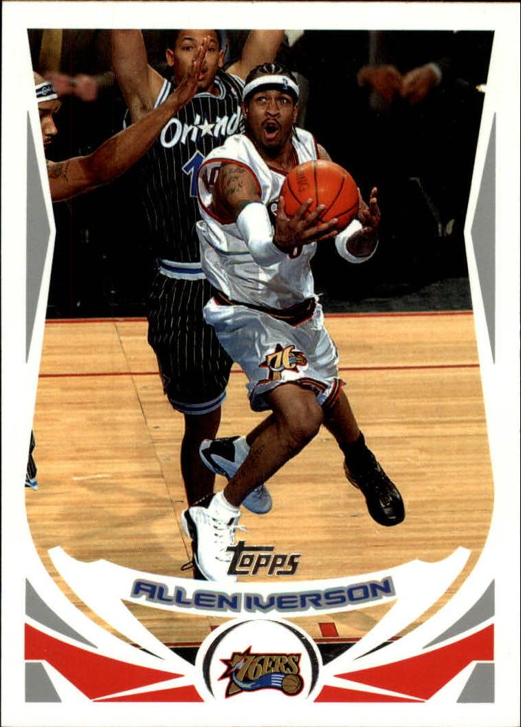 2004-05 Topps #1 Allen Iverson