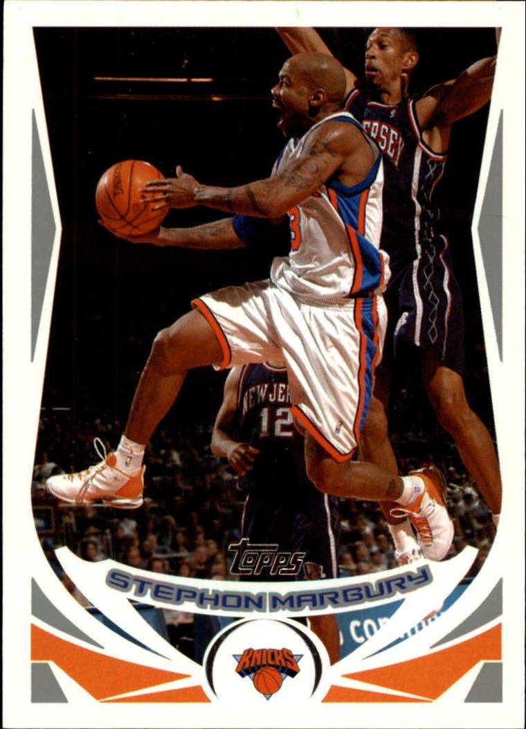 2004-05 Topps #3 Stephon Marbury
