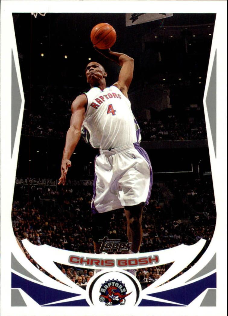 2004-05 Topps #4 Chris Bosh