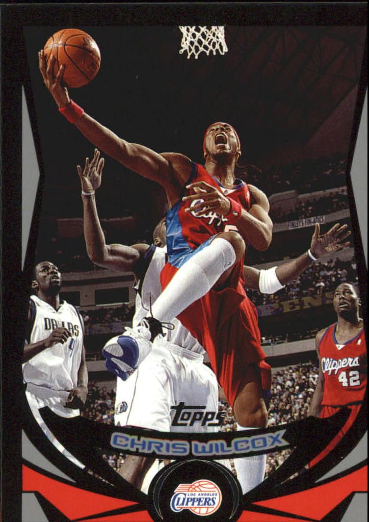 2004-05 Topps Black #32 Chris Wilcox
