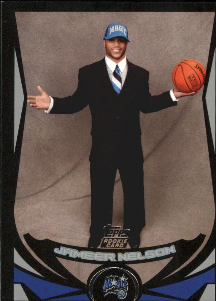 2004-05 Topps Black #240 Jameer Nelson