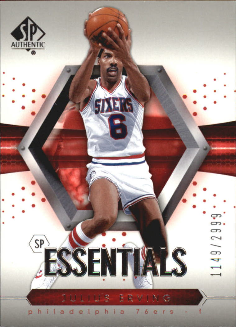 2004-05 SP Authentic #121 Julius Erving ESS