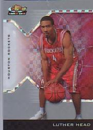 2004-05 Finest X-Fractors #214 Luther Head