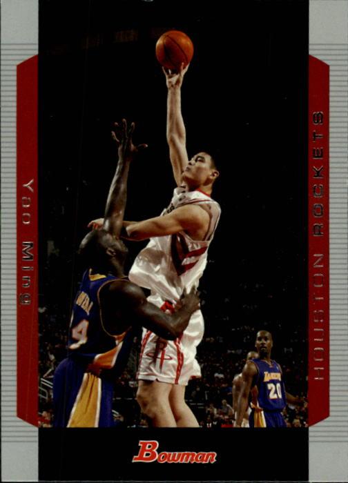 2004-05 Bowman #1 Yao Ming