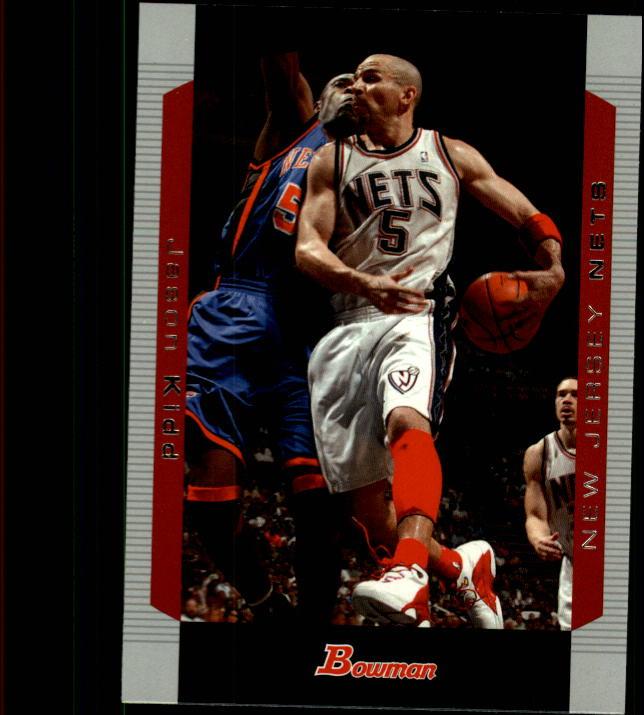 2004-05 Bowman #5 Jason Kidd