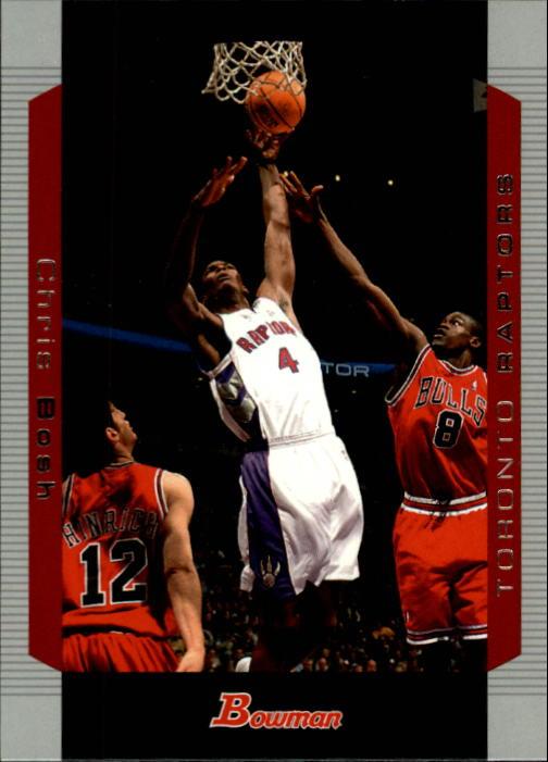 2004-05 Bowman #38 Chris Bosh
