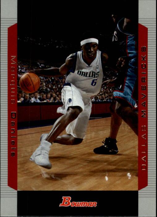 2004-05 Bowman #74 Marquis Daniels