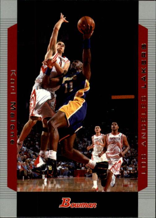 2004-05 Bowman #99 Karl Malone