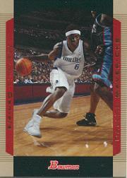 2004-05 Bowman Gold #74 Marquis Daniels