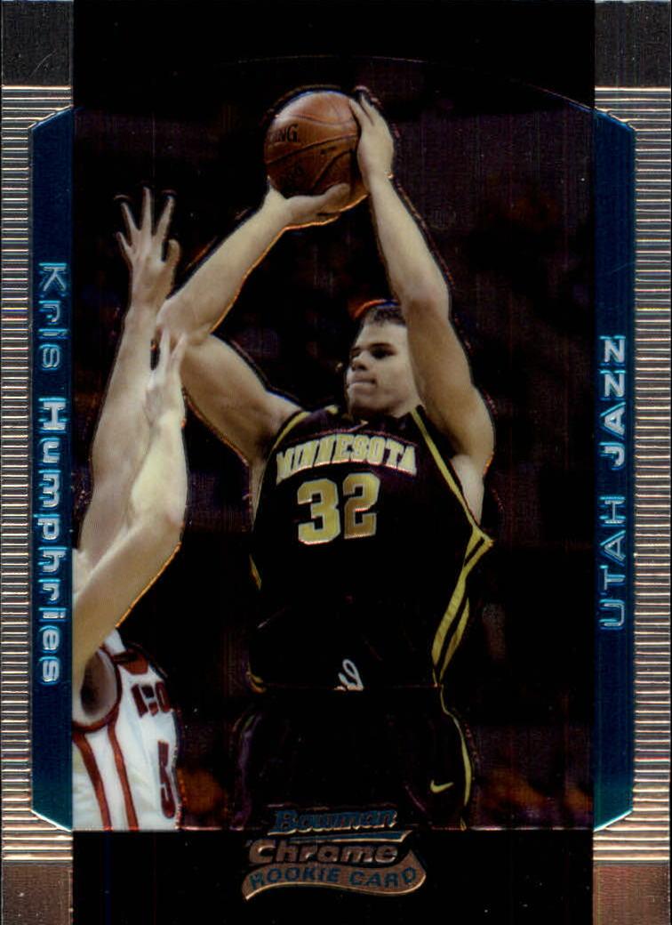 2004-05 Bowman Chrome #125 Kris Humphries RC