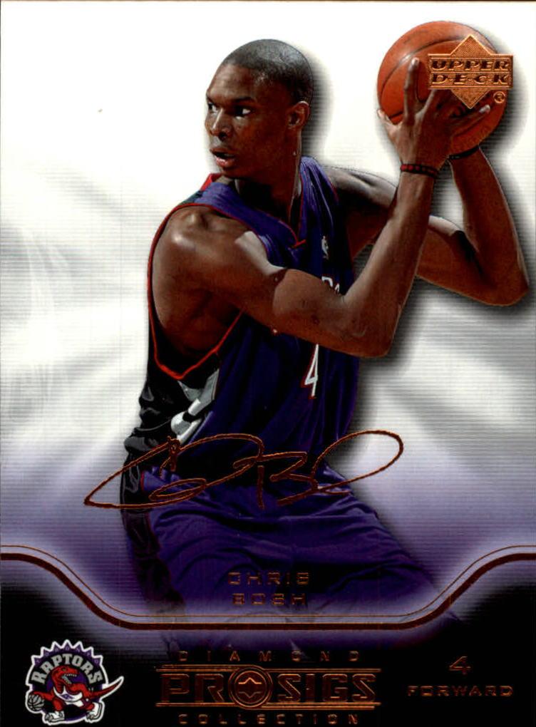 2004-05 Upper Deck Pro Sigs #82 Chris Bosh