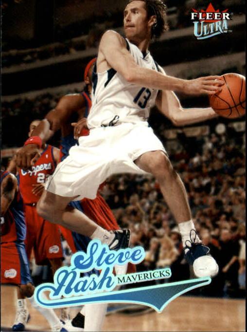 2004-05 Ultra #3 Steve Nash