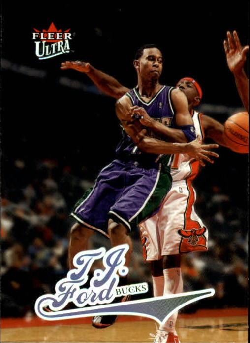 2004-05 Ultra #5 T.J. Ford