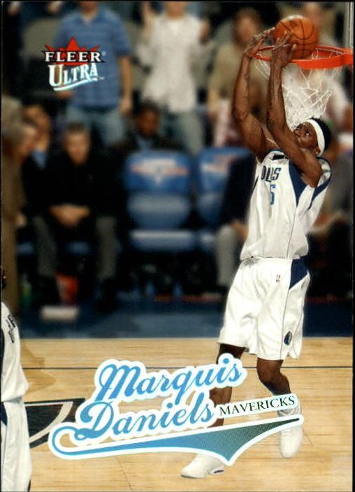 2004-05 Ultra #62 Marquis Daniels