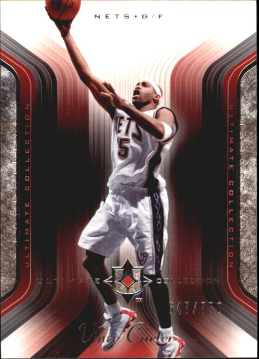 2004-05 Ultimate Collection #67 Vince Carter