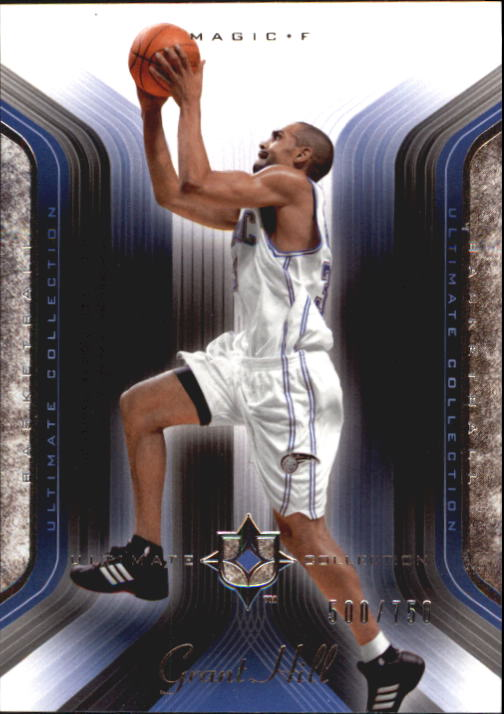2004-05 Ultimate Collection #79 Grant Hill