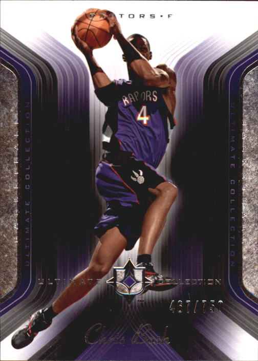 2004-05 Ultimate Collection #107 Chris Bosh