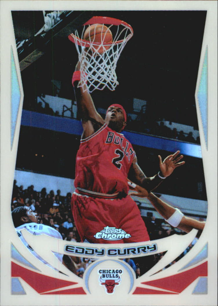 2004-05 Topps Chrome Refractors #2 Eddy Curry