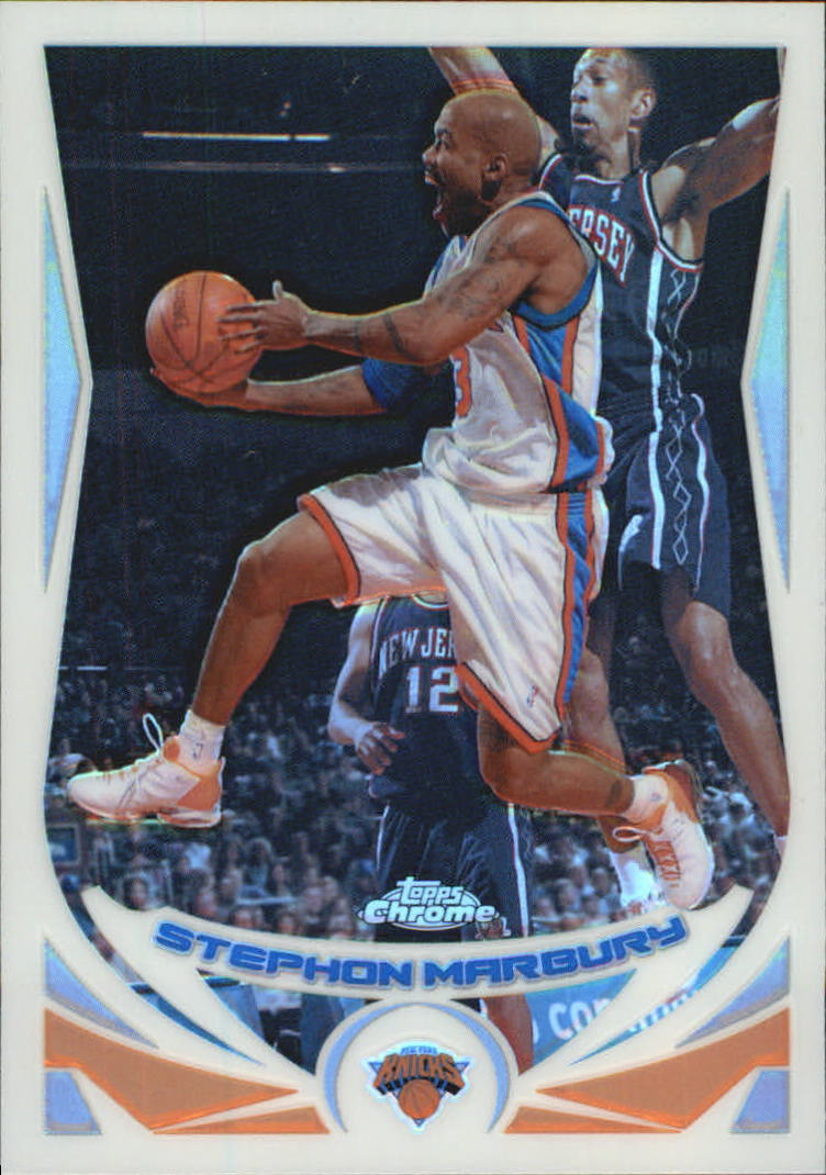 2004-05 Topps Chrome Refractors #3 Stephon Marbury