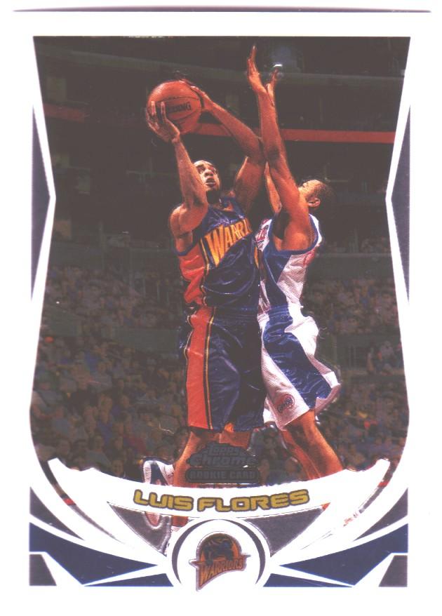 2004-05 Topps Chrome #188 Luis Flores RC