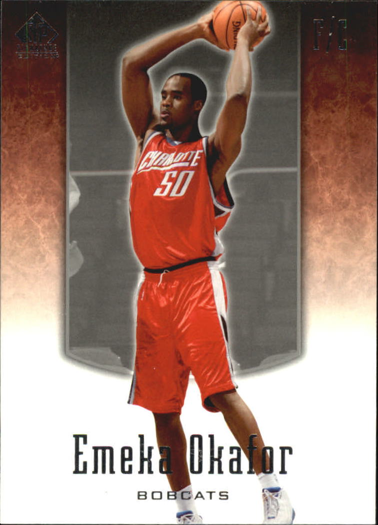 2004-05 SP Signature Edition #8 Emeka Okafor RC