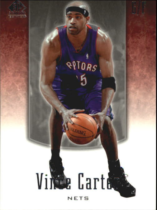 2004-05 SP Signature Edition #60 Vince Carter