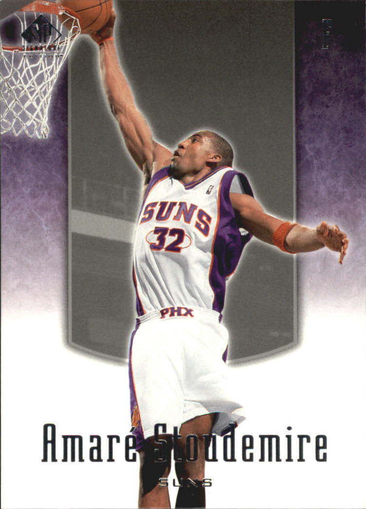 2004-05 SP Signature Edition #75 Amare Stoudemire