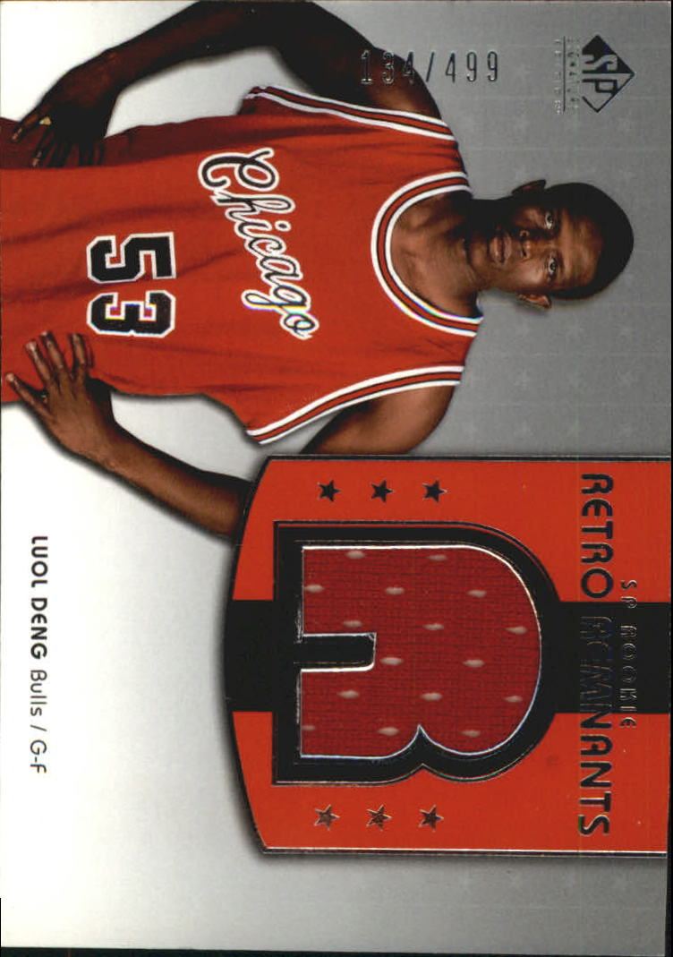 2004-05 SP Signature Edition #106 Luol Deng JSY RC
