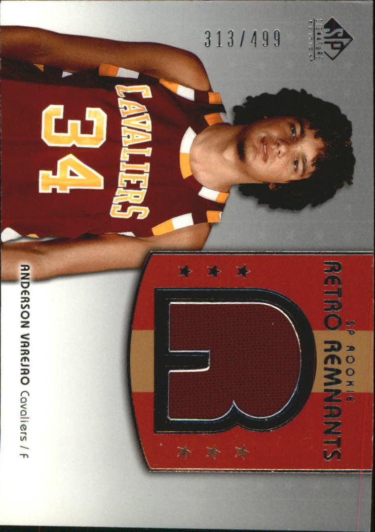 2004-05 SP Signature Edition #122 Anderson Varejao JSY RC