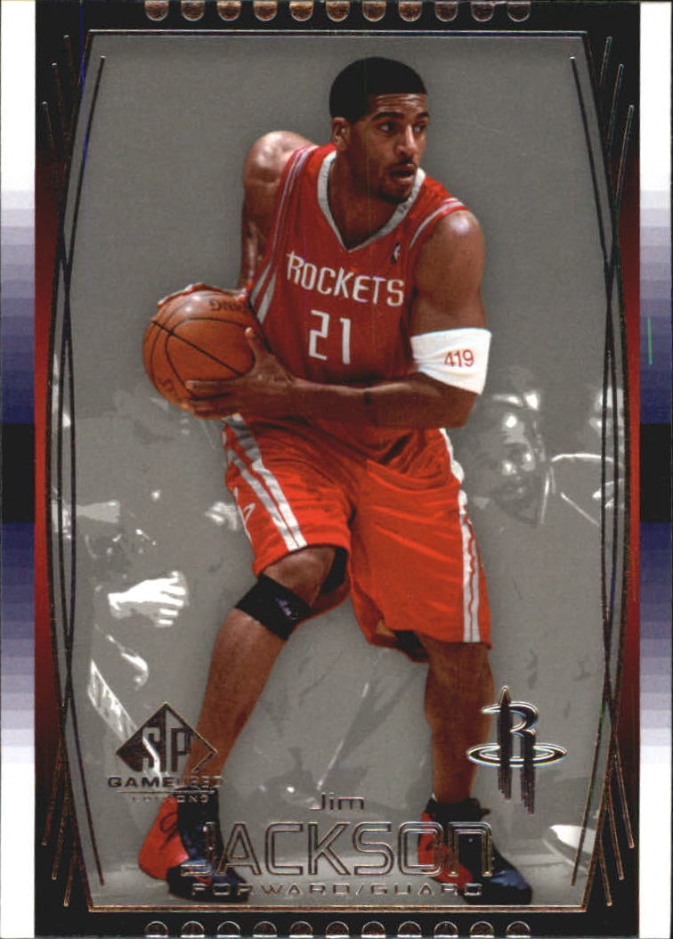 2004-05 SP Game Used #20 Jim Jackson