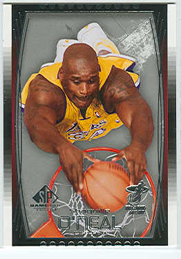 2004-05 SP Game Used #30 Shaquille O'Neal