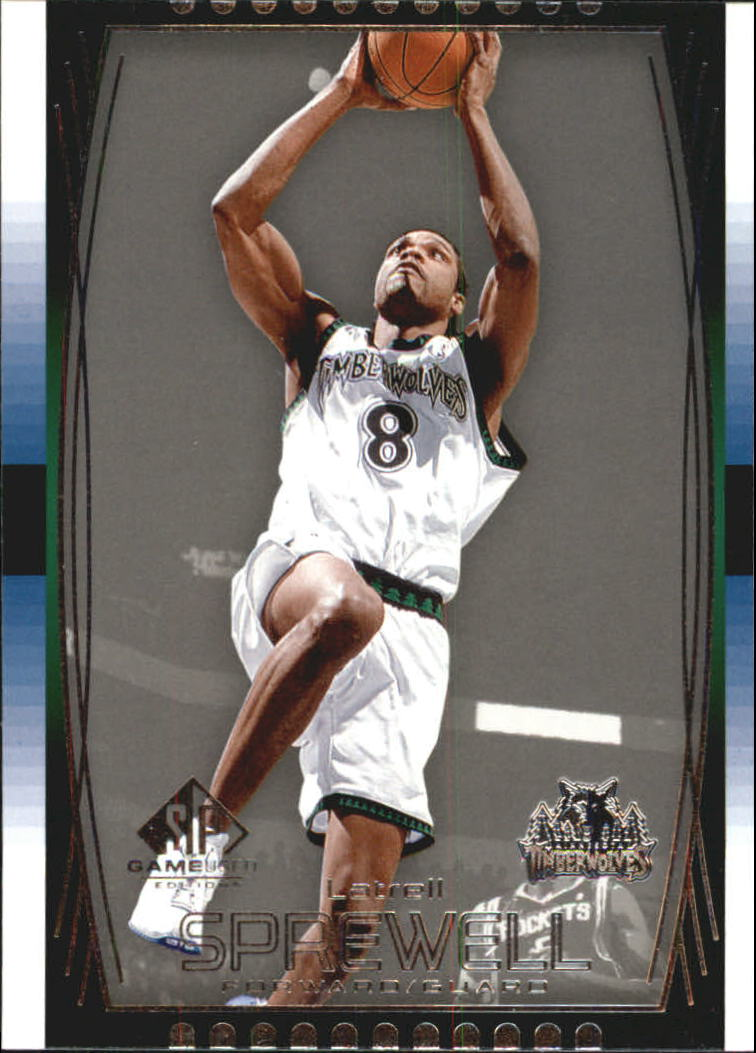 2004-05 SP Game Used #33 Latrell Sprewell