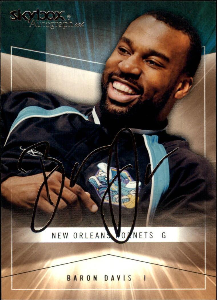 2004-05 SkyBox Autographics #25 Baron Davis
