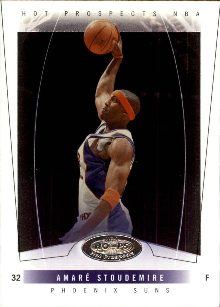 2004-05 Hoops Hot Prospects #18 Amare Stoudemire