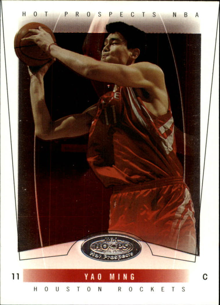 2004-05 Hoops Hot Prospects #21 Yao Ming