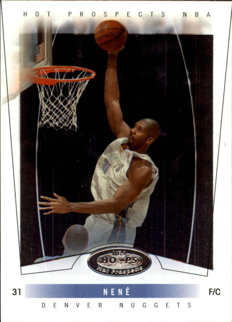 2004-05 Hoops Hot Prospects #53 Nene