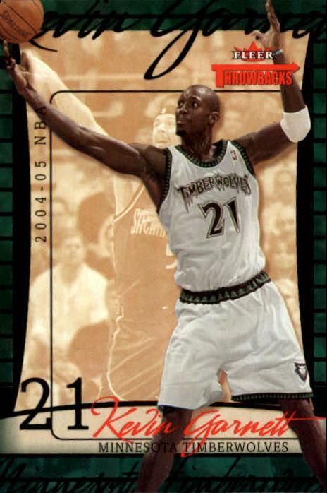 2004-05 Fleer Throwbacks #5 Kevin Garnett